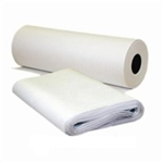 Newsprint Roll Lightweight White - 19 in. x 1200 Ft.