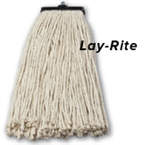 Lay Rite Cotton Blue Mop Head - 16 oz.