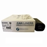 LLDPE 0.80 Mil White Can Liner - 30 in. x 36 in.