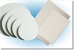Mottled White Snobrite Cake Circle Paper - 16 in.