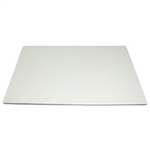 White Corrugated Half Sheet Cake Pad - 18.75 in. x 13.75 in.