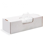 0.65 Mil Clear LLDPE Food and Utility Bags - 6 in. x 8 in.