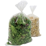 Clear Food Bag Poly 0.75 Mil - 8 in. x 4 in. x 18 in.