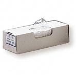 0.75 Mil Clear LLDPE Bun Pan Covers - 27 in. x 35 in.