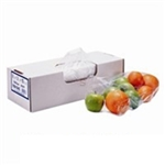 Food Utility Bag 0.75 Mil LLDPE Clear - 5.5 in. x 3 in. x 24 in.