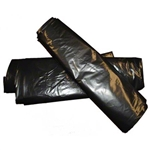 Low-Density LLDPE Repro Can Liner 1.3 Mil Black - 37 in. x 56 in.