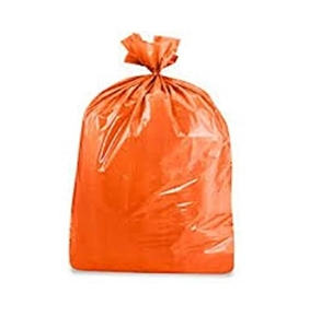 Orange Linear Low Density Can Liner - 43 in. x 47 in.