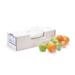 Non-Vented Clear Poly Food Bag - 6 in. x 3 in. x 15 in.