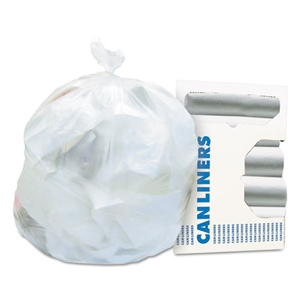 Glutton Natural High Density Can Liner - 43 in. x 48 in.