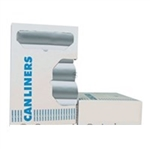 Can Liner On Roll 8-Mic HDPE Clear 12-16 Gal. - 24 in. x 33 in.
