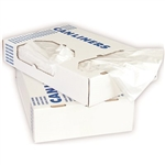 High Density 8 Micron Natural Can Liner - 30 in. x 37 in.