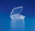 Tear Slip Salad Container - 8.75 in. x 7.87 in. x 1.87 in.