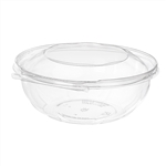 Safe-T-Fresh Bowl Tamper Evident Dome Lid PETE Clear - 80 Oz.