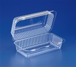 Clear Hinged Pet Container - 56 Oz.
