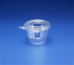 Tear Strip Deli Container Pete With Vented Flat Lid - 8 Oz.