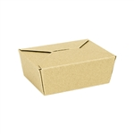 Food Container Natural Kraft Chipboard - 29 Oz.