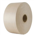 Water Activated Reinforced Natural Tape - 70 mm x 375 ft.