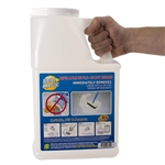 Spill Magic Empty Refillable Dispenser White Bottle - 3 lb.