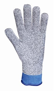 LN 10 High Performance Antimicrobial Cut Gloves Large Black and White
