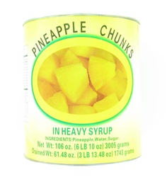 Pineapple Chunk in syrup