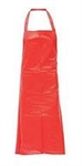 Red Vinyl Apron - 31 in. x 39 in.