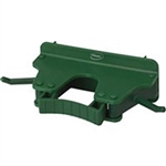 Vikan Wall Bracket Green - 3.15 in. x 6.15 in. x 2.35 in.