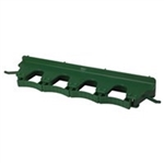 Vikan Wall Bracket Green - 3.15 in. x 15.5 in. x 2.5 in.
