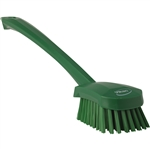 Long Handle Green Brush