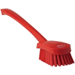 Long Handle Red Brush