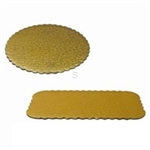 Golden Lace Cake Circle Corrugated - 9 in.