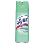 Lysol Disinfectant Spray Aerosol Crystal Waters - 12.5 Oz.