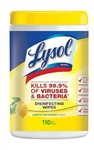 Lysol Lemon and Lime Blossom Sanitizing Wipes 110 Ct.
