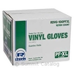 General Purpose Powder Free Vinyl Gloves-X-Large Natural
