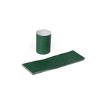 Hunter Green Napkin Bands Self Stick Paper - 1.5 in. x 4.25 in.