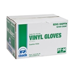 General Purpose Powder Free Vinyl Gloves Medium Natural