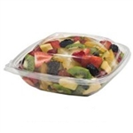 Square Bowl Combo Clear - 48 Oz.
