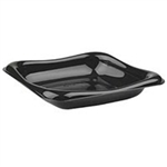 Black Small Sandwich Container Square - 5.25 in.
