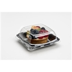 Grab-A-Pac Square High Dome Clear Lid For 900606D300