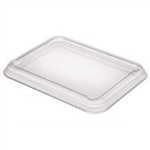 Clear PET Lid for Medium Rectangle Trays