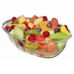 Clear Oval Luau Bowl - 72 oz.