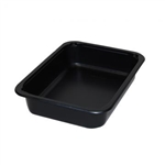 Medium Rectangle Tray Black - 32 Oz.