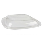 Clear Dome Lid for 24, 32, 48 oz. Medium Square Bowls