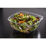 Large Square Bowl Clear - 48 Oz.