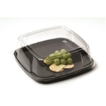 Mozaik Black Square Platter and Dome Lid - 14 in.