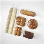 Clear Micro Perforated Polypropylene Bakery Bag - 6 in. x 28 in.
