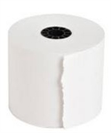 White Add Paper Roll