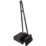 Duo-Pan Lobby Pan and Duo-Sweep Broom Combo 36 in. Black