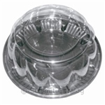 Crust Saver Pie Combo Swirl Dome - 11.25 in. x 3 in.