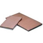 Tan Teflon Cover For Wrapping Machine Hot Plate - 6 in. x 15 in.