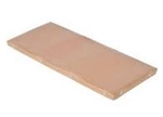Tan Teflon Cover For Wrapping Machine Hot Plate - 8 in. x 15 in.